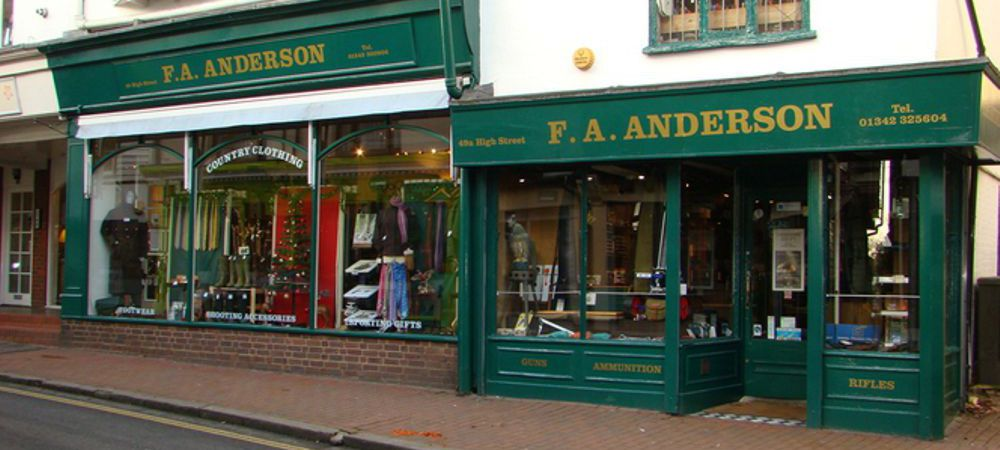 F A Andersons